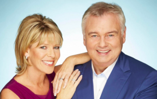 Ruth Langsford wasn't happy with husband Eamonn this morning