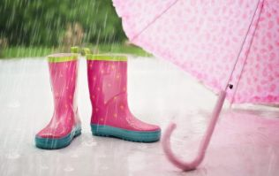 The latest weather report reveals we're in for a wet and windy day