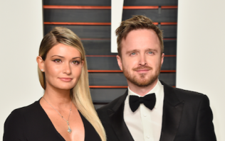 The name of Aaron Paul and his wife Lauren's daughter has been revealed
