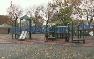 Police search for person who left newborn baby boy in bin in New York park