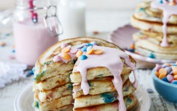 Give your pancakes a makeover with this Unicorn Pancake recipe