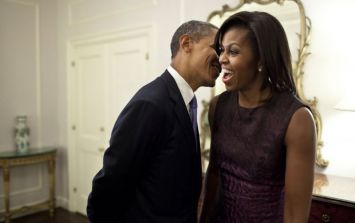 The official portraits of Barack and Michelle Obama are... a bit out of the norm