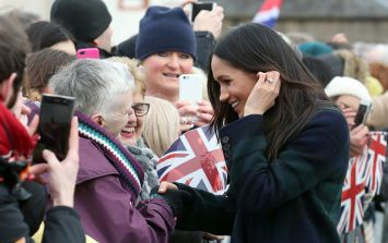 Harry and Meghan are on an official visit to Edinburgh today