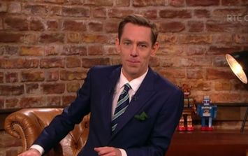 Last night's The Late Late Show featured one seriously emotional moment