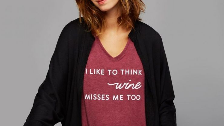 We have found the ONE t-shirt every pregnant mama needs
