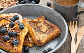 This five-minute French toast is exactly what we need this morning