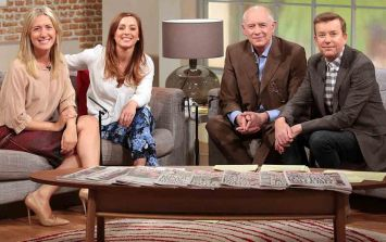 Alan Hughes has finally responded to Sinead Desmond's exit from Ireland AM