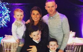 FINALLY! On baby No.4, Wayne Rooney is helping Coleen out in a big way