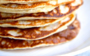 These Greek yogurt pancakes are super-easy (and perfect for Mother's day)