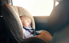 Mum's anguish after seeing a baby 'left in the car' alone every morning