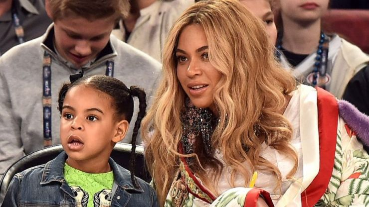 Beyoncé's daughter Blue Ivy just bid $19,000 on a piece of art
