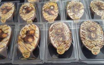 This café's Creme Egg and Ferrero Rocher cheesecake-filled Easter eggs are a dream