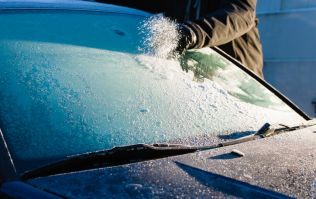 A national weather warning stays in place as 'severe frost' is expected later tonight