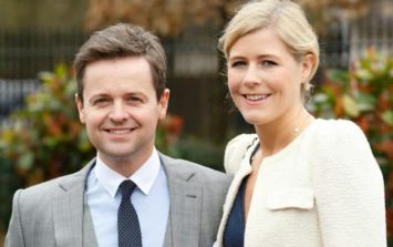 Dec's wife Ali has just revealed their baby's due date