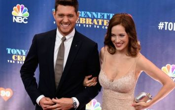 Michael Bublé announces his baby's gender on Irish radio show