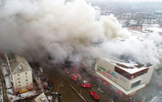 As 41 children die in a fire in Siberia, thousands take to the streets in protest