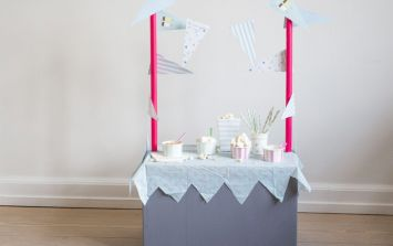 DIY this adorable ice cream shop for the kids – just in time for spring