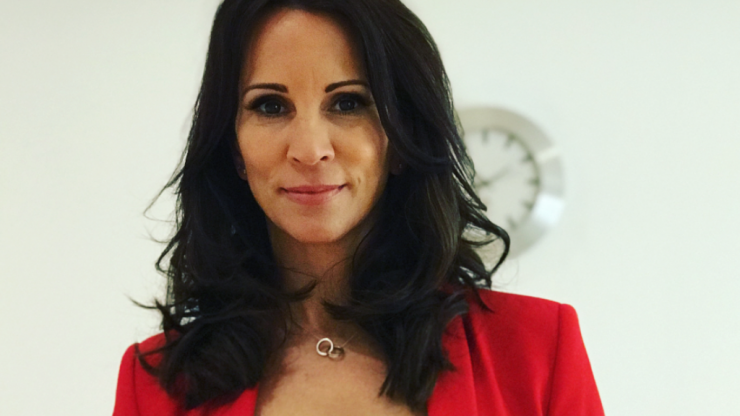 'Be careful': Andrea McLean warns mums that she got pregnant after menopause
