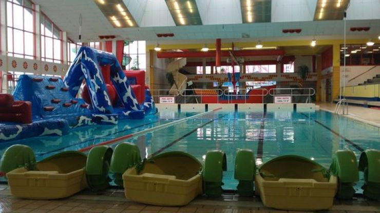 Kids at Galway's Leisureland got the nicest surprise from a stranger today