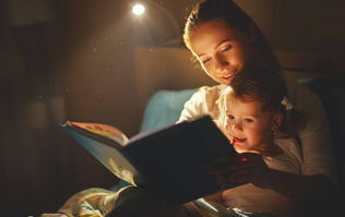 This is why it's so important to read to your children every night