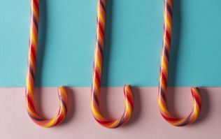 Mac and cheese candy canes are a thing and I don't know how I feel about it