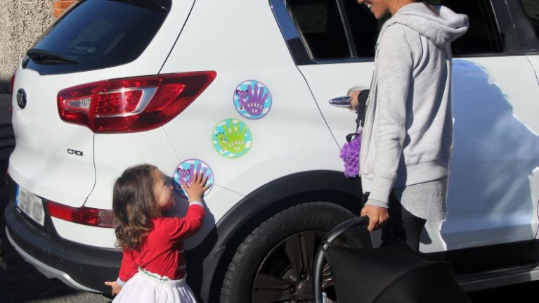 An Irish mum has created a must-have product for keeping kids safe around cars