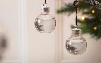 Gin filled Christmas baubles have arrived, and we'll take 67 of them please