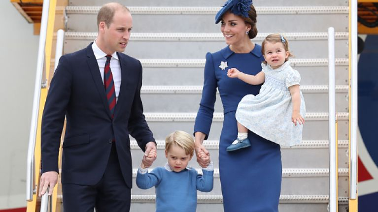 George and Charlotte are already learning this royal tradition