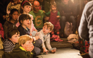 There is an amazing arts festival for children kicking off in Galway tomorrow