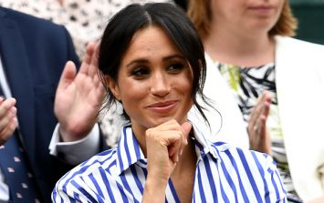So, this is when Meghan Markle broke her pregnancy news with the royal family
