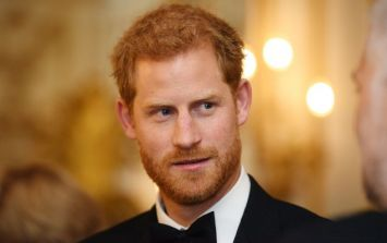 Prince Harry got nervous saying the word 'baby' in adorable speech this morning