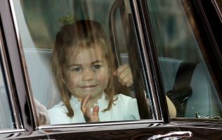 Princess Eugenie has released a cute wedding snap alongside Princess Charlotte