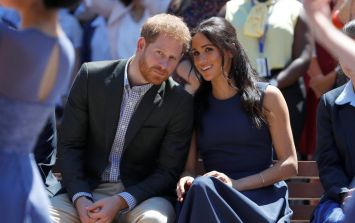 Prince Harry made a sweet reference to Meghan Markle's pregnancy at Invictus Games