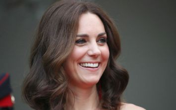 Kate Middleton wore a gorgeous high street dress today, and it's already out of stock