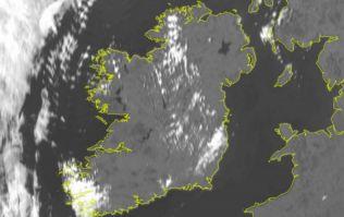 Met Éireann has just issued an updated status orange wind warning for 13 counties