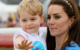 Duchess Kate made an adorable joke about Prince George and honestly, too cute