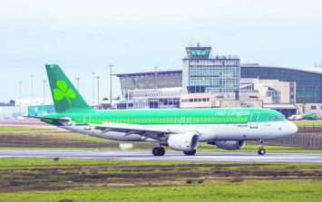 Aer Lingus cancels a dozens of flights this morning due to Storm Callum