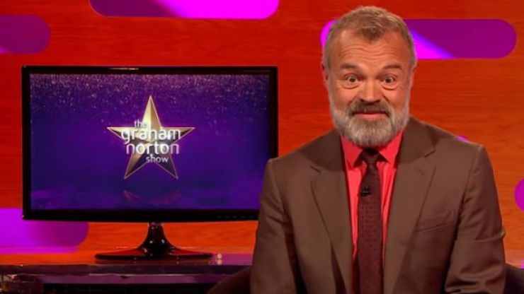 We'll be staying in tonight after seeing this lineup for Graham Norton