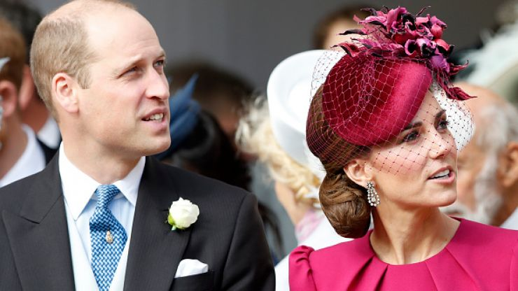 Awwww! The Duke and Duchess of Cambridge show rare display of affection