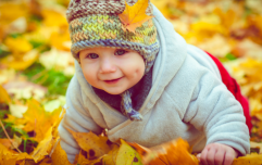 10 autumnal (and adorable) baby names perfect for November babies