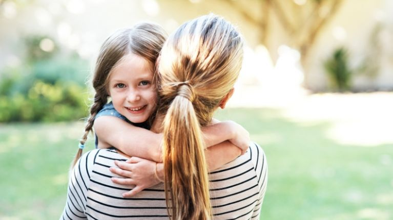 This study revealed that the more you hug your child, the smarter they become
