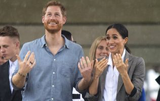Prince Harry gives the sweetest shout out to Meghan and their baby during speech