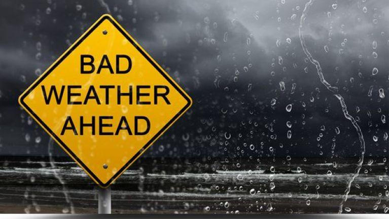 Met Éireann has issued a number of weather warnings ahead of the weekend
