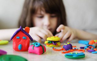 Try this homemade playdough the next time your kids complain that they're bored