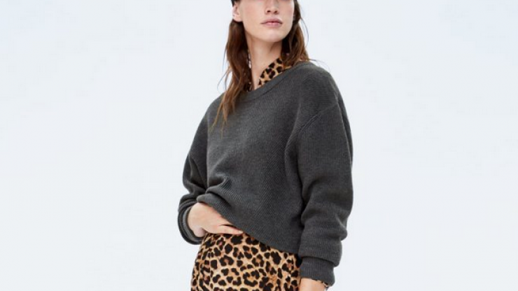 Zara has a new maternity line and it's SO good