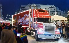 Here are ALL the dates that the Coca-Cola Christmas truck will be touring around Ireland