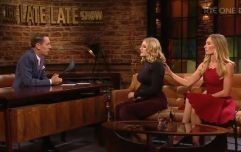 Victoria Smurfit's daughter, Evie, praised for opening up about rare eye condition on Late Late Show