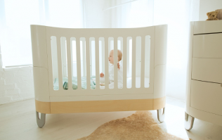 This fantastic piece of nursery furniture could be the only bed your child needs