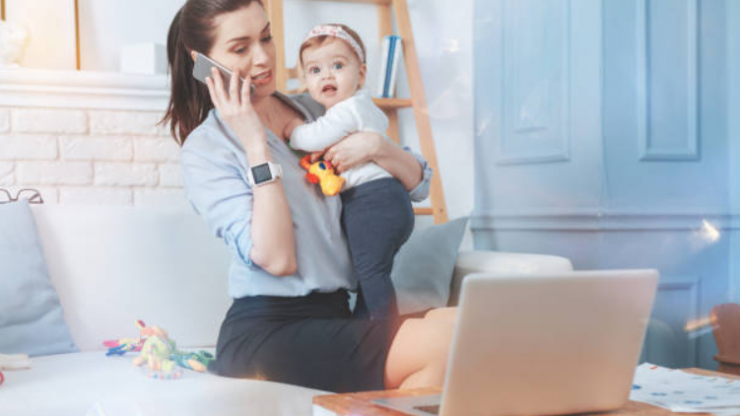 Study claims that if you're a mother, you're more productive at work