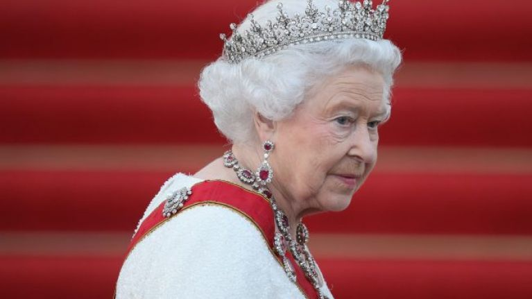 Queen Elizabeth thinks the word pregnant is 'vulgar' and so, uses this word instead